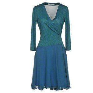 Diane von Furstenberg DVF Irina Silk Wrap Dress